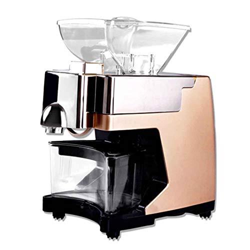 Máquina Automática Prensado Aceite 530W, ≥95% Alto Rendimiento, 50 ℃ -220 ℃ Extracció Caliente/Frío En El Hogar, Acero Inoxidable 304, Para Oliva, Lino, Maní, Nuec