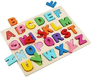 Kimuvin ABC Puzzle Board for Toddlers 3-5 Years Old