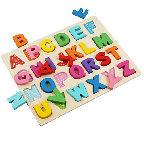 ABC Puzzle Board for Toddlers