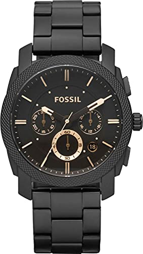 Fossil Reloj Cronógrafo para Hombre de Automático con Correa en Acero Inoxidable FS4682IE