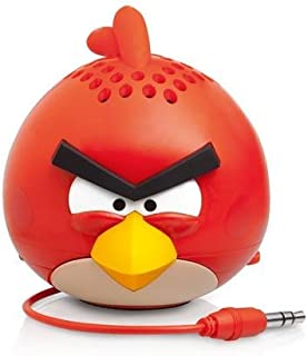 Gear 4 PG778G Compact Classic Angry Red Bird Mini Speaker