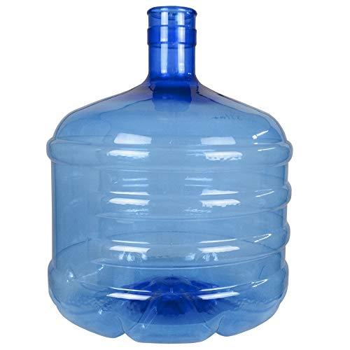 HODS HOME OFFICE DELIVERY SERVICES Botellón de 12 litros, para Agua. Compatible con Tapones de 5 galones. Apto para dispensadores de Agua. Color Azul. Libre de bisfenol-A
