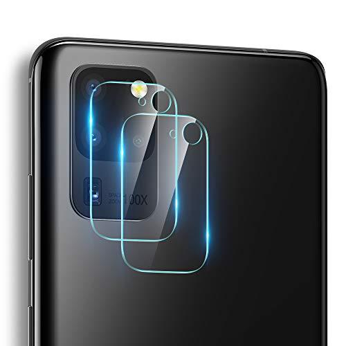ESR Kameraschutzfolie (2 Stück) kompatibel mit Galaxy S20 Ultra [Kratzresistent] [Fingerabdruckresistent] [Superdünn] Flexible Fiberglasschutzfolie für das Samsung Galaxy S20 Ultra (2020)