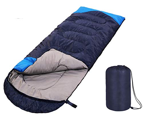 SWTMERRY- Sleeping Bag 4 Seasons (Summer, Spring, Fall, Winter) Warm & Cool Weather -...