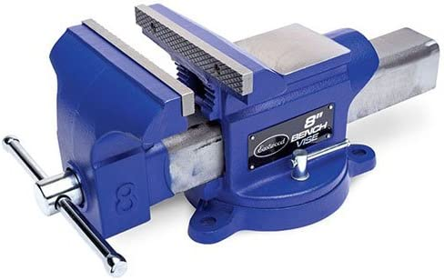 Cheap SALE Start Eastwood 8 in. Bench Vise Iron Las Vegas Mall Metalwor Duty Milling Heavy Clamp