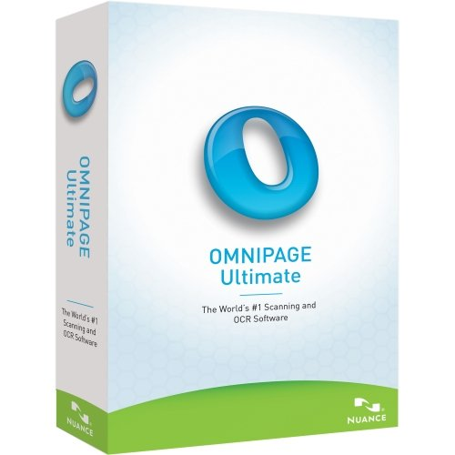 nuance software utilities Nuance OmniPage v.19.0 Ultimate - Upgrade Package - 1 User - OCR Utility - Academic Retail - DVD-ROM - PC - English