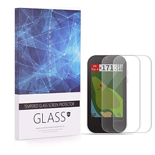 BECEMURU Garmin G80 Protector de Pantalla 9H Cobertura Completa Protector de Cristal Templado para Garmin G80 Ordenador GPS (2 Paquete)