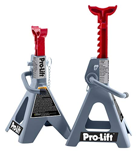 Pro-LifT T-6902D Double Pin Jack Stand - 2 Ton, 1 Pack
