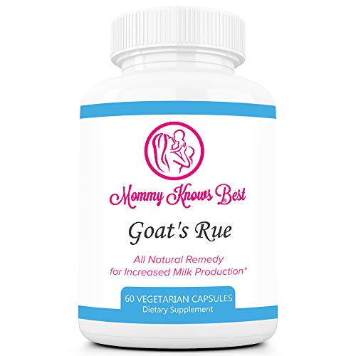 Goat's Rue Lactation Aid Support Supplement for Breastfeeding Mothers - 60 Vegetarian Capsules...