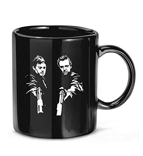 DansTee The #Boondock #Saints #Action Shot Cult Classic 90s Movie Fan #Silhouette Coffee Mug for Women and Men Tea Cups
