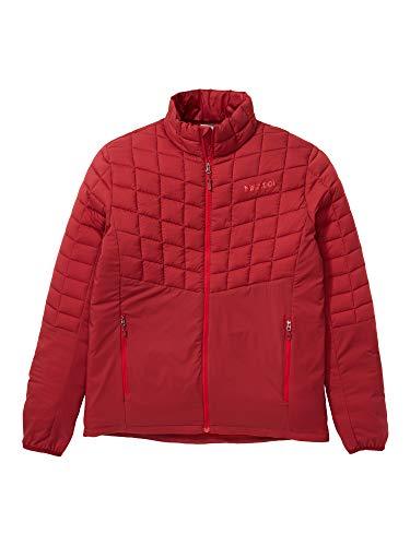 Marmot Featherless Hybrid Jacket Chaqueta Senderismo Forrada, Chaqueta Outdoor, Anorak; Repelente al Agua, a Prueba de Viento, Hombre, Brick, S