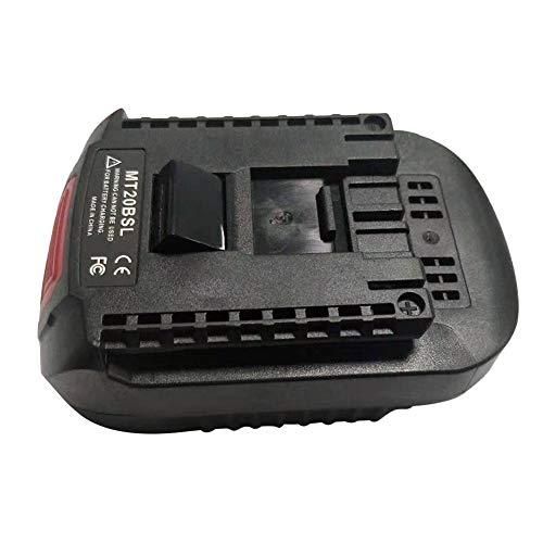 Katurn Akku Konverter Adapter , Li-Ion Akku Konverter Adapter Für MAKITA BL1830 BL1815 BL1840 BL1850 BL1860