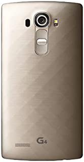 LG G4 GSM Unlocked 32GB Mobile Phone (Gold) - International Version No Warranty