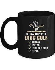 How to Play disc golf frisbee-skiva golfare humorskiva golfmugg