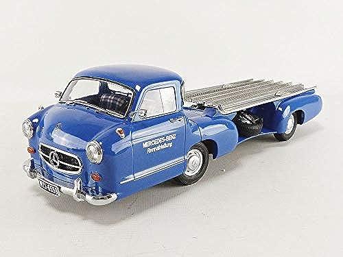 I-SCALE Miniaturauto Collection, 118000000006, Blau Silber