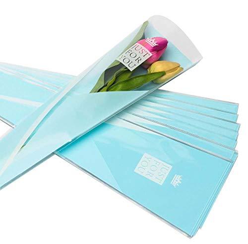 100 pcs unique rose sacs d'emballage bouquet de fleurs sacs d'emballage #04