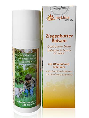 mykima - Beauty - Ziegenbutter Balsam - Olivenöl & Aloe Vera - Im Handspender - 50 ml