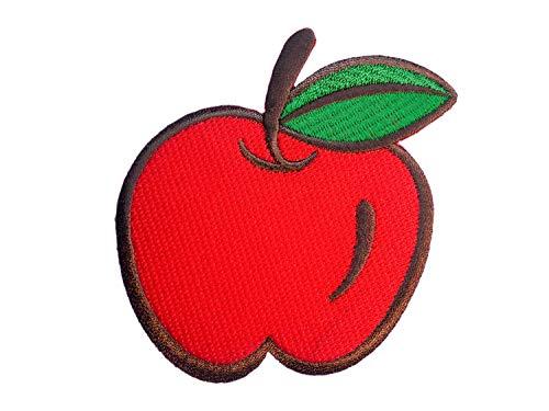 Miniblings Pomme correctif Patch Patches Patch à Repasser 9x9cm verger de Fruits Rouges Patch I éléphants Patches pour Le Repassage