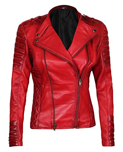 Blingsoul Real Leather Jacket Women | [1300407] Jannie, 3XL