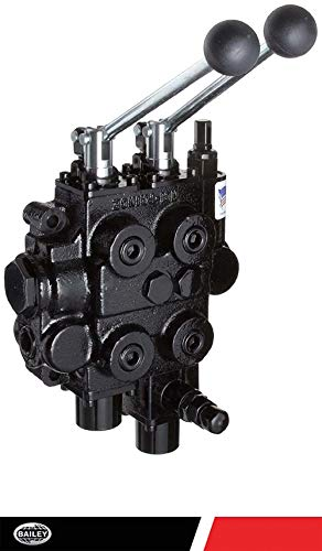 Chief 12 Volt Solenoid Operated Directional Control Valves: 1 Spool 4 Way 3 Position Motor 13 GPM, 3625 PSI SAE #10/10 Inlet/Outlet, 8 SAE Work Ports