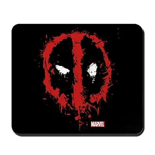 Deadpool Splatter Mousepad Office Gaming Computer PC Laptop Accessory