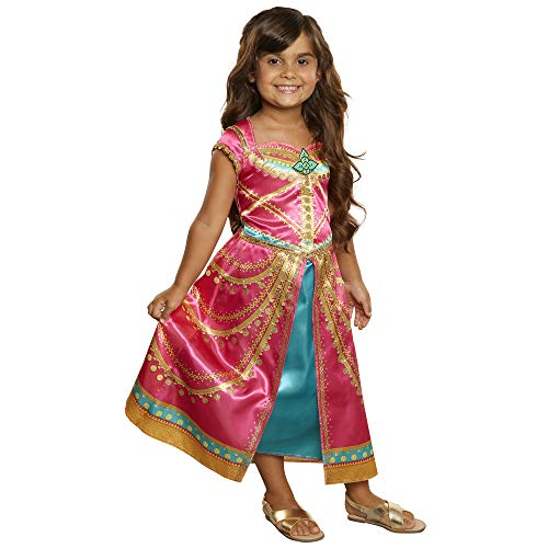 Disney Aladdin Jasmine Dress Costume Pink Fuchsia outfit