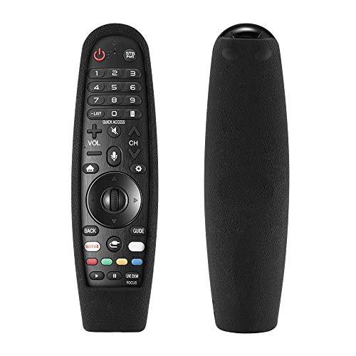 Allomn Copertura Remota Custodia Protettiva compatibile con LG AN-MR600 / MR650A / MR18BA / MR650 per LG Smart TV Remote Controller (Nero)