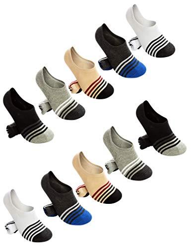 メンズ 靴下 くるぶし靴下 スニーカーソックス フットカバー カジュアル 浅履き ショートソックス 10足組 選べるセット RM001 C