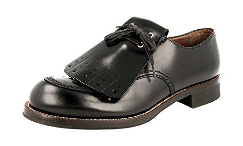 Prada Herren Schwarz Leder Business Schuhe 2EG192 43 EU/UK 9