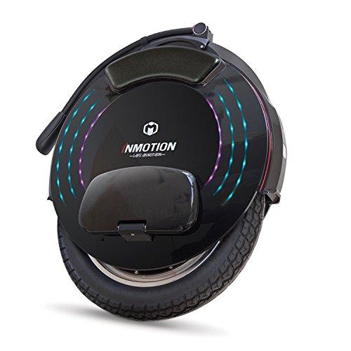 InMotion V10F Monociclo eléctrico, Unisex-Adult, Negro, 52,85 x 62,35