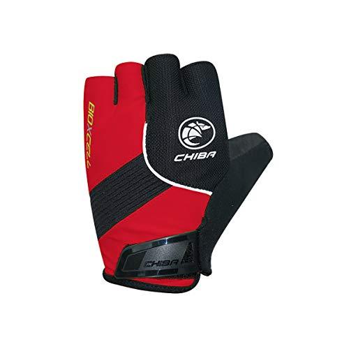 Chiba Gloves BioXCell Classic Fahrradhandschuhe rot XL