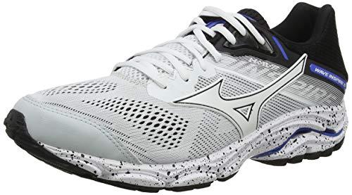 Mizuno WAVE INSPIRE 15, Men's Running, White (White/White/Black 1), 7.5 UK (41 EU)