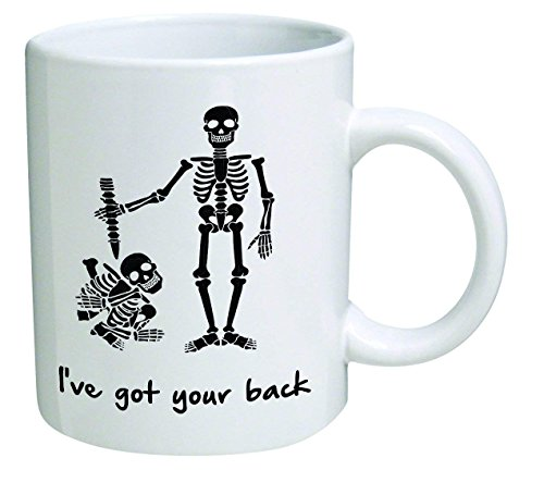 WuRen Funny Mug - I've got your back, support, help, frienship - 11 OZ Coffee Mugs - Inspirational gifts and sarcasm - By TM