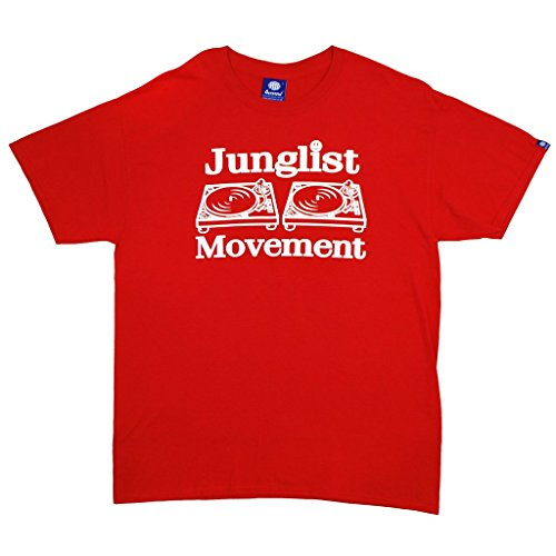 Aerosoul Junglist Movement T-Shirt rot Gr. XXL, rot