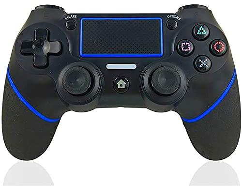 Controller per PS4,DUALSHOCK 4 Wireless Controller per Playstation 4 Pro  Slim PC Pannello tattile Joypad con Joystick per Giochi a Doppia Vibrazione TouchPad e 3.5mm Jack Audio