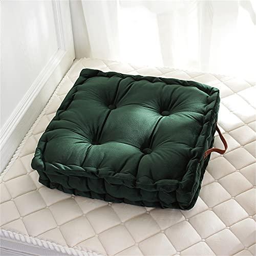 Cuscino da pavimento Cuscino del divano del soggiorno Coprisedili per pouf in velluto Morbido tappeto da meditazione Federa per cuscino, Poggiapiedi decorativo per soggiorno, camera da letto, patio,#3
