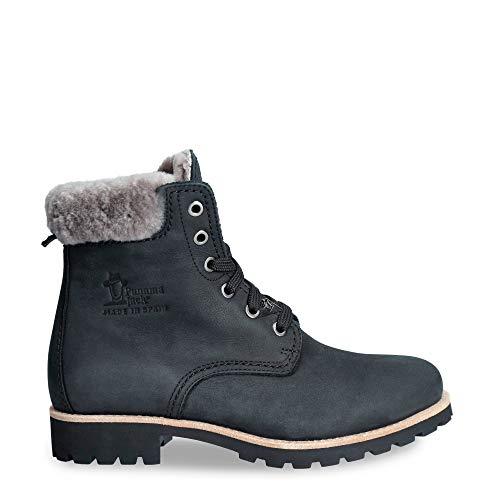 Panama Jack Damen Panama 03 Igloo Combat Boots, Schwarz (Negro B21), 38 EU