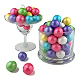 Color It Candy Shimmer Spring Mix 1 inch Gumballs 2 Lb Bag- Perfect For Table Centerpieces, Weddings, Birthdays, Candy Buffets, & Party Favors.