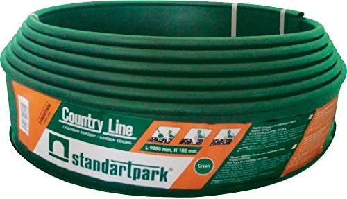 Bordura jardin Country-Line color marron rollo de 9m (Verde)