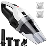 Holife Handheld Vacuum Cordless Hand Vacuum Cleaner Rechargeable Hand Vac, 14.8V Lithium with Quick Charge, Lightweight Wet Dry Vacuum for Home Pet Hair Car Cleaning