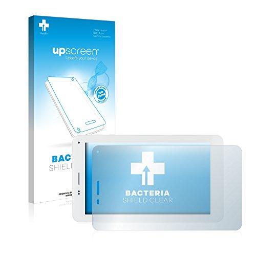 upscreen Protector Pantalla Anti-Bacterias Compatible con Mediacom SmartPad 7.0 S2 3G M-MP7S2A3G Película Protectora Antibacteriana