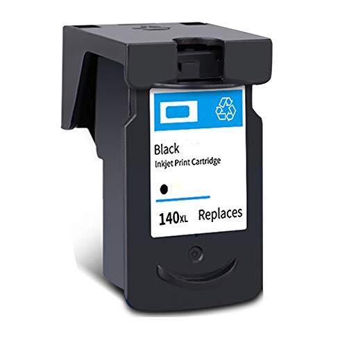 Cartucho de tinta PG-140XL CL-141XL, de alto rendimiento para impresora Canon Pixma MG 2110 2210 3110 3610 4110 MX 371 391 431 TS5110 negro y tricolor 1 negro