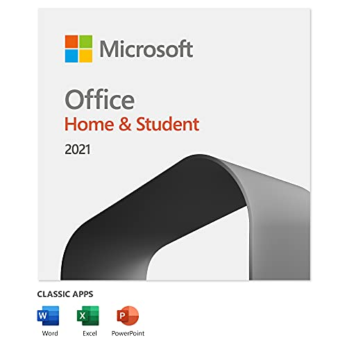 Microsoft Office 2021 Home & Student   1 user   1 PC (Windows 10/11) or Mac...