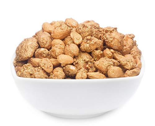 1 x 650g Gold Nugget Gold Honig Premium Nussmischung edel und knackig karamelisiert mit Cashew...