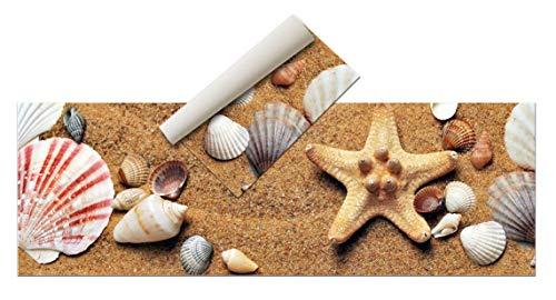 Tappeto vinilico - Spiaggia diverse misure - Tappeto cucina, bagno, salotto sala da pranzo...
