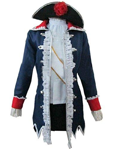 Onecos Axis Powers Hetalia Prussia Gender Conversion Cosplay Costume