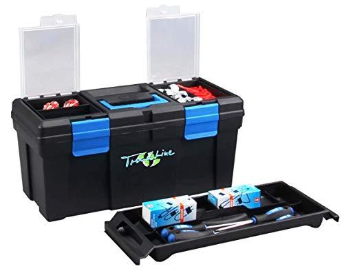 TrendLine Werkzeugkoffer MC Plus 20 51x24x24 cm Werkzeugkiste Werkzeugkasten