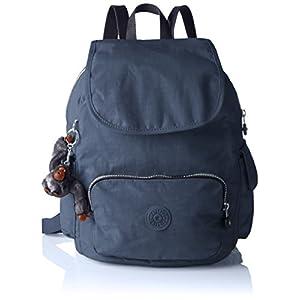 41+52ggxQRL. SS300  - Kipling City Pack S', Bolso de Mochila para Mujer, Negro, 27x33.5x19 cm