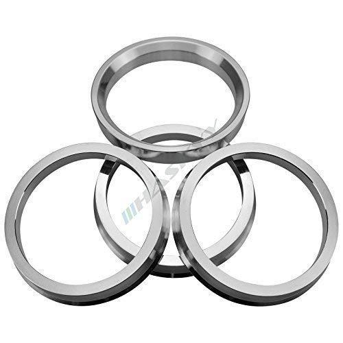 Haskyy 4 Zentrierringe aus Alu // Aluminium in diversen Größen zur Auswahl (74,1-66,6)
