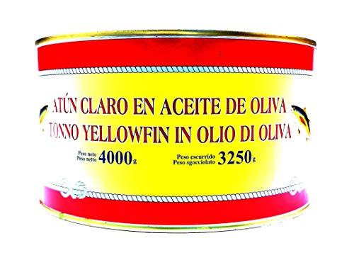 Tonno Spagnolo in Olio di Oliva 4kg - COSTA VASCA - [1 latta]